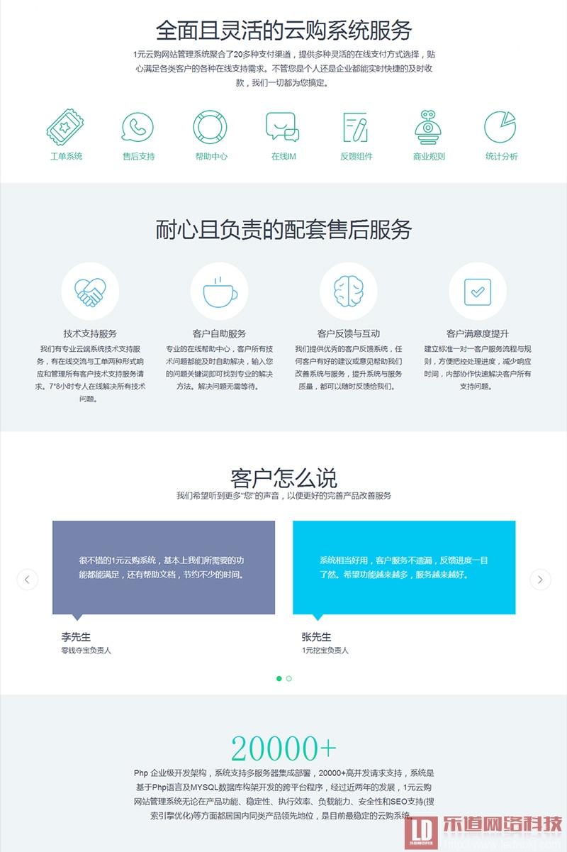 1元云购系统开发,1元云购网站建设